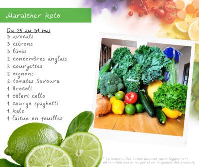 Panier Légumes Keto
