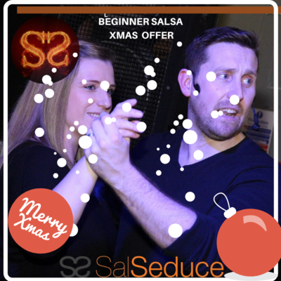 Absolute Beginner Salsa  - 2 Week SEMI PRIVATE Course - XMAS OFFER