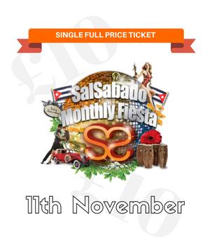 SalSabado Single FULL PRICE Ticket (8th February)