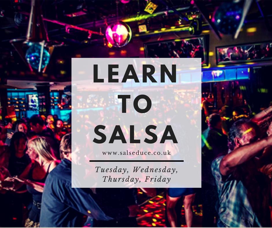 Beginner 4 Week Salsa Pass (Group Classes) - INDIVIDUAL