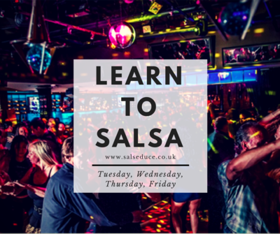Beginner 4 Week Salsa Pass (Group Classes) - INDIVIDUAL