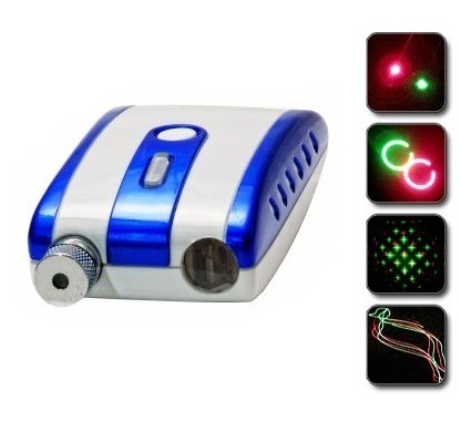 Двухцветный диско лазер 3 для яркого лазерного шоу 00060