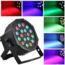 LED цветомузыка Par Light 18 00076