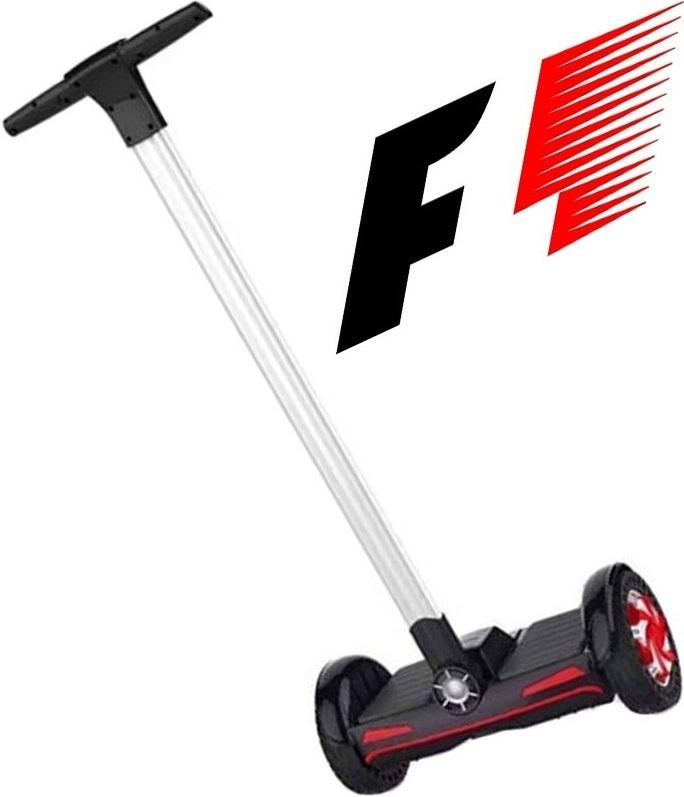 Гироскутер с ручкой ElectroTown F1 Black 00095
