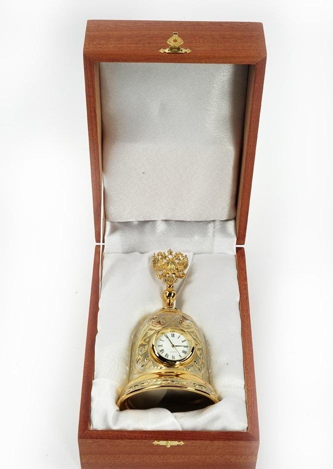 Часы колокол с гербом РФ 00520
