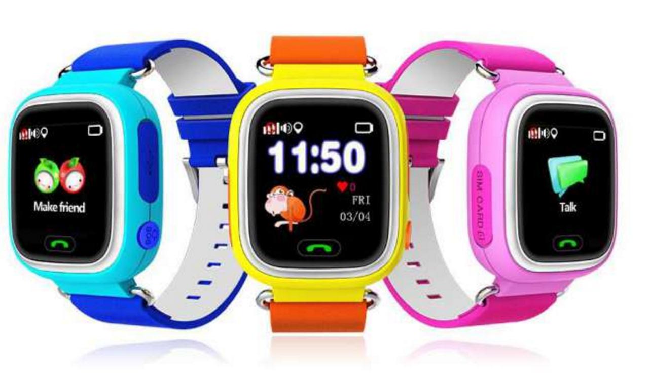 Детские умные часы Wonlex Smart Baby Watch Q80 (GW100)