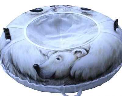 Тюбинг Белый медведь 110см. 99999999939