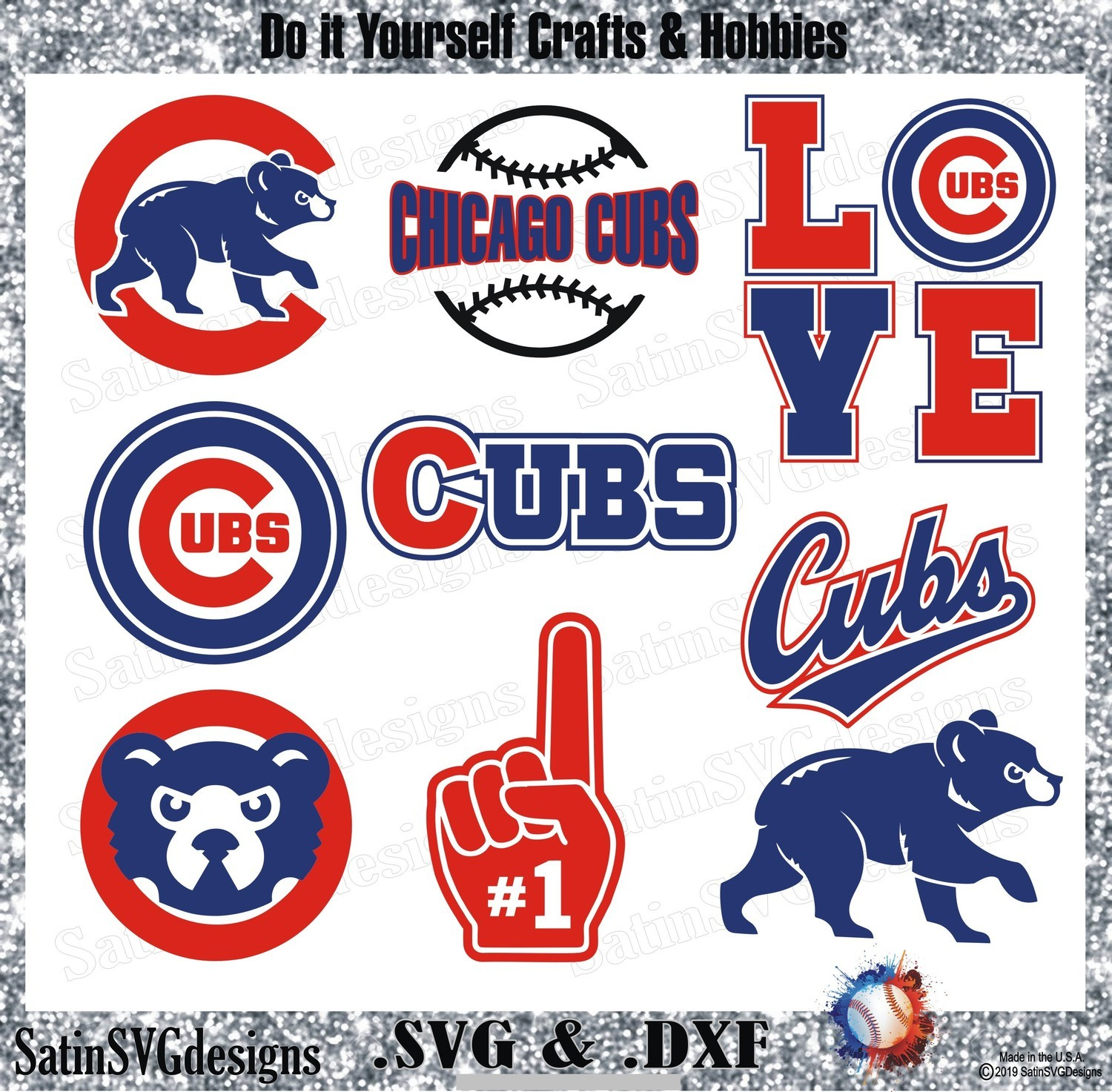 It's just an image of Printable Chicago Cubs Logo with regard to chicago bears