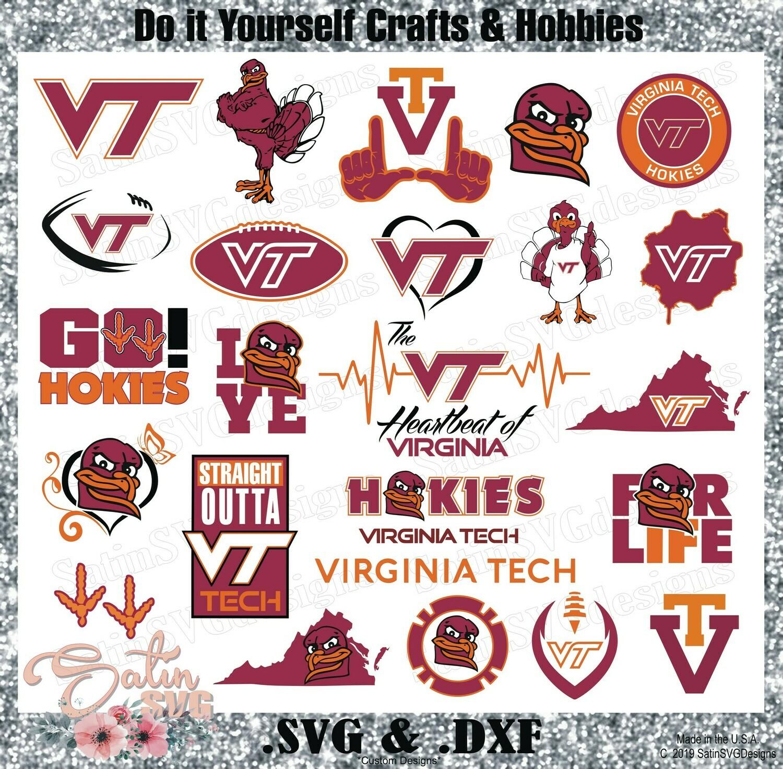 Sports Purse Small Virginia Tech NWT Small