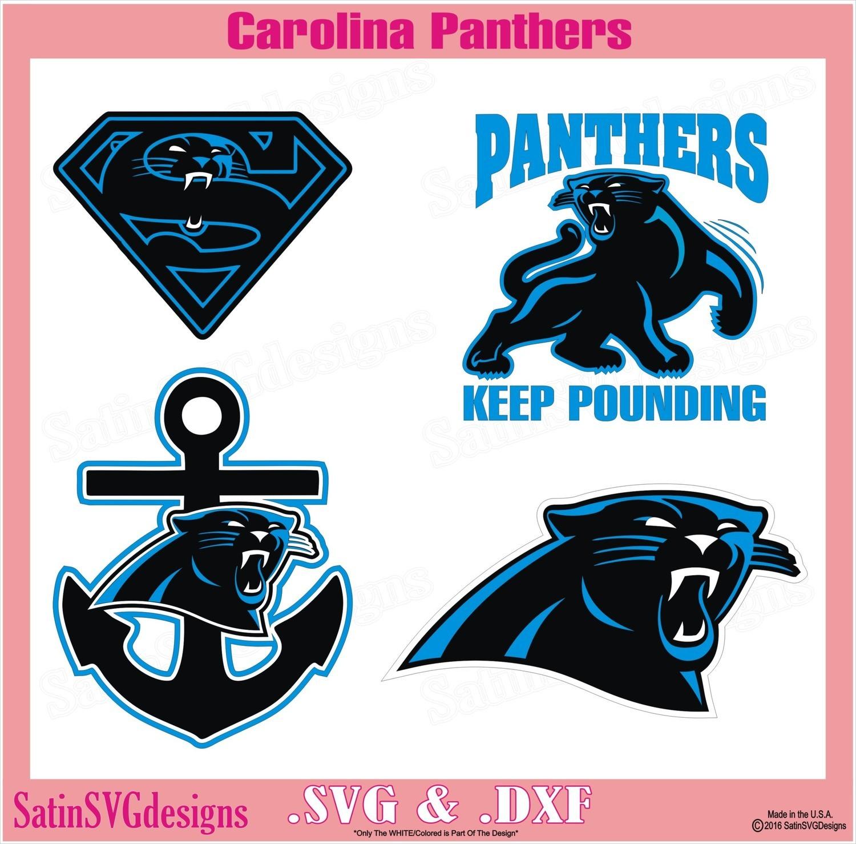 photograph relating to Carolina Panthers Printable Logo named Carolina Panthers Multi Established Style SVG Documents, Cricut, Silhouette Studio, Electronic Slash Documents