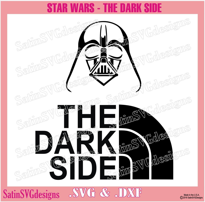 Star Wars Dark Side Set Design SVG Files, Cricut, Silhouette Studio,  Digital Cut Files