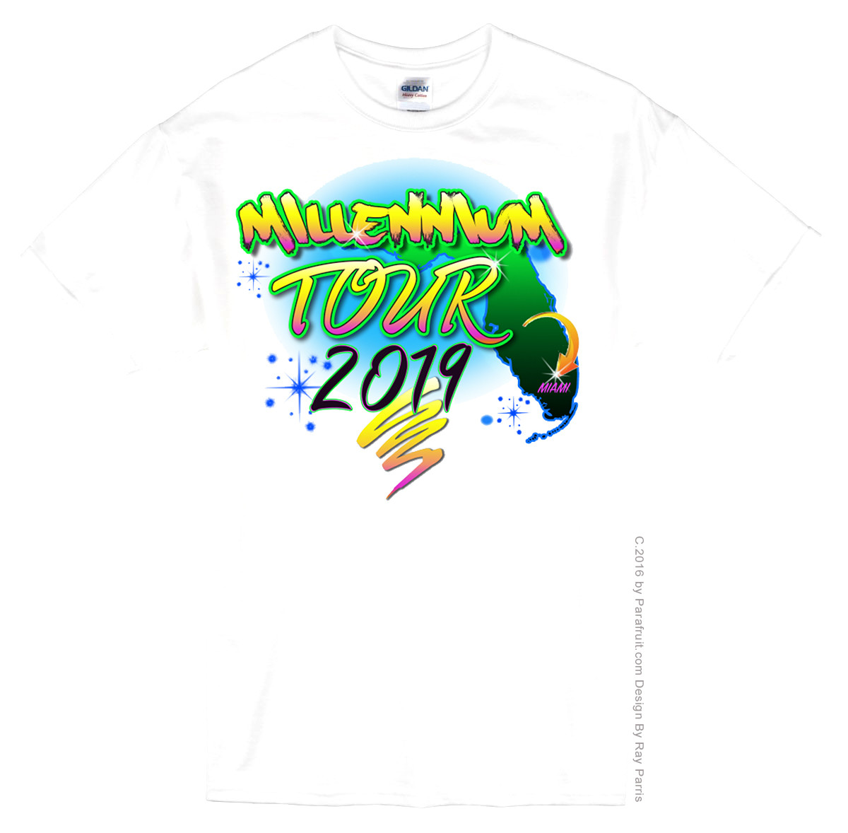 Airbrush Miami Tour