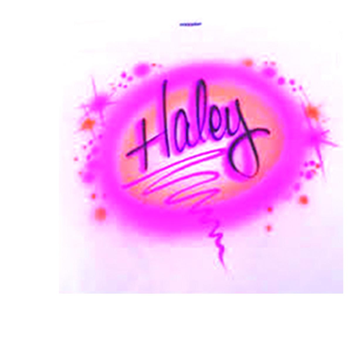 Haley Name 9 00011