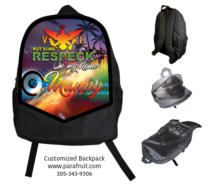 VI Respect My Name Backpack 00138