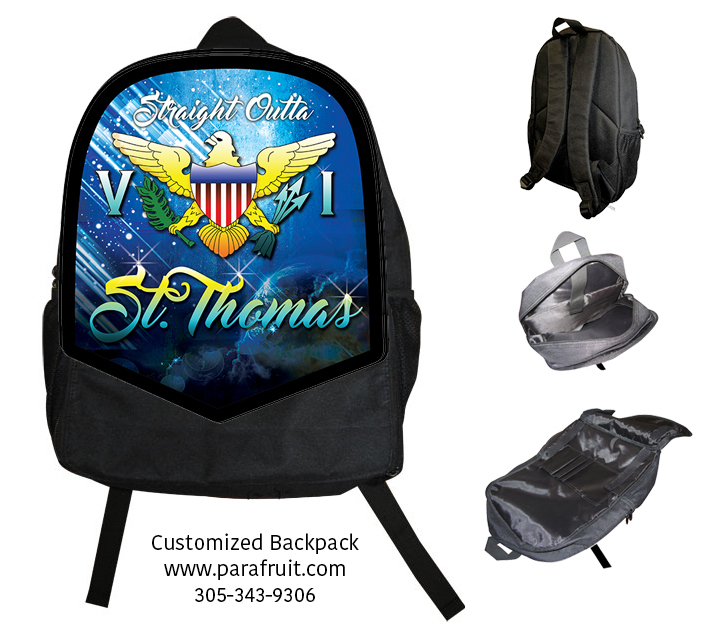 Outta ST Thomas Backpack 00142