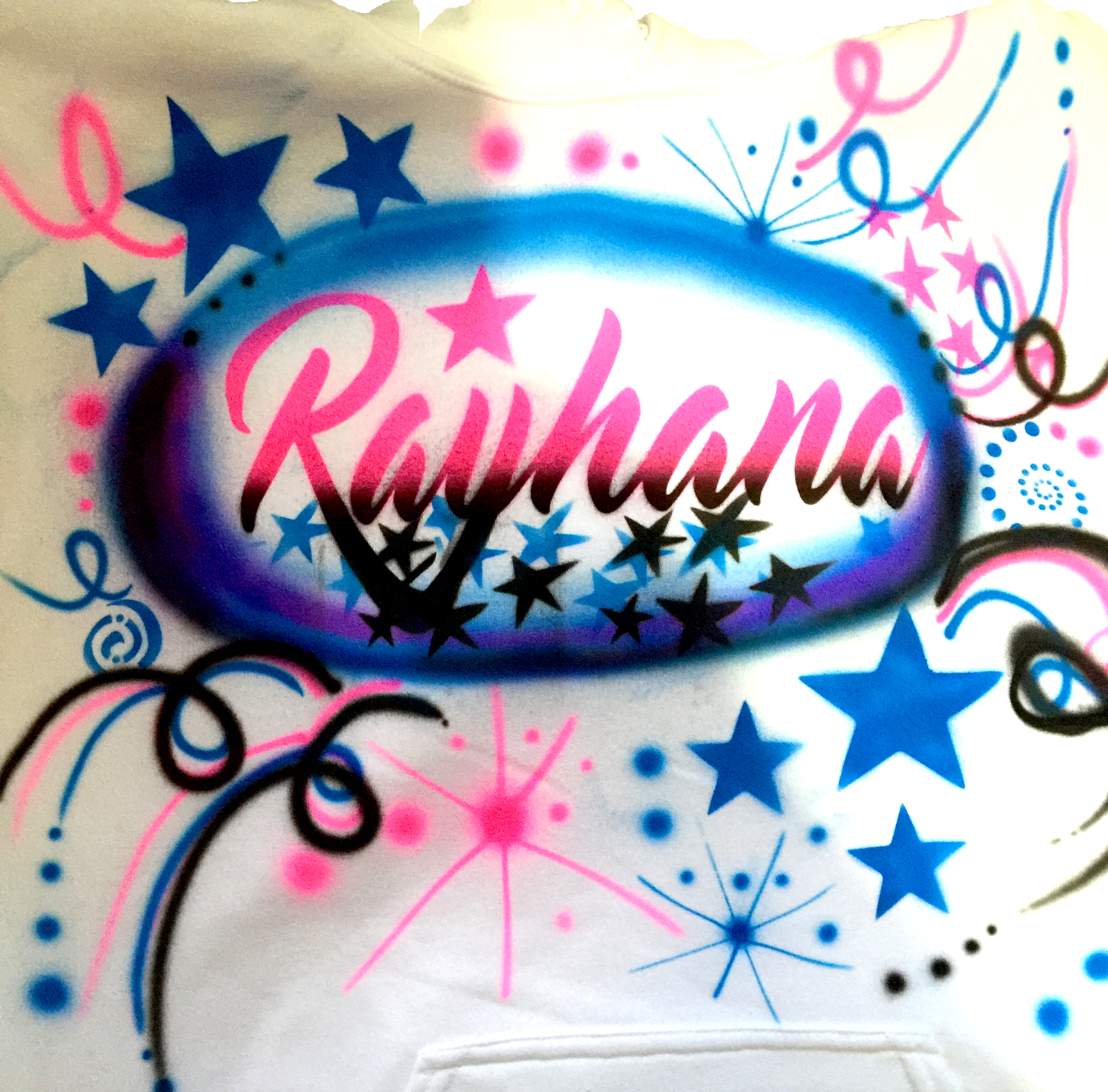 Rayhana Name Airbrush 00152