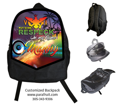 VI Respect My Name Backpack