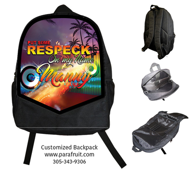 Respect My Name Backpack