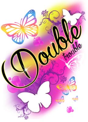 Airbrush  Butterfly Shirt/Hoodie DD