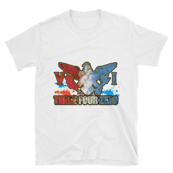 Short-Sleeve Unisex T-Shirt-340 BLUE 09821