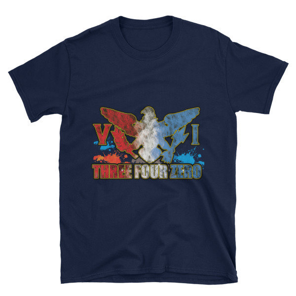 Short-Sleeve Unisex T-Shirt-340 BLUE