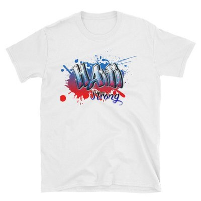 Short-Sleeve Unisex T-Shirt-HAITI STRONG