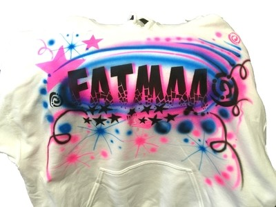 Fatma Name Airbrush