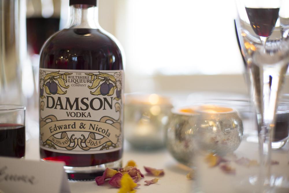 Damson Vodka Wedding