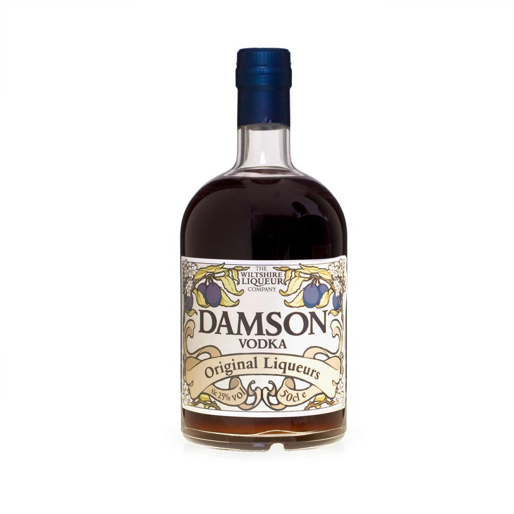 Damson Vodka Pack Shot