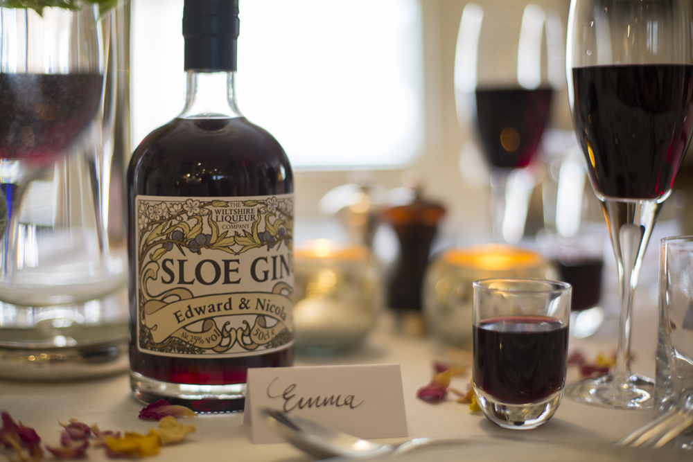 Sloe Gin Wedding