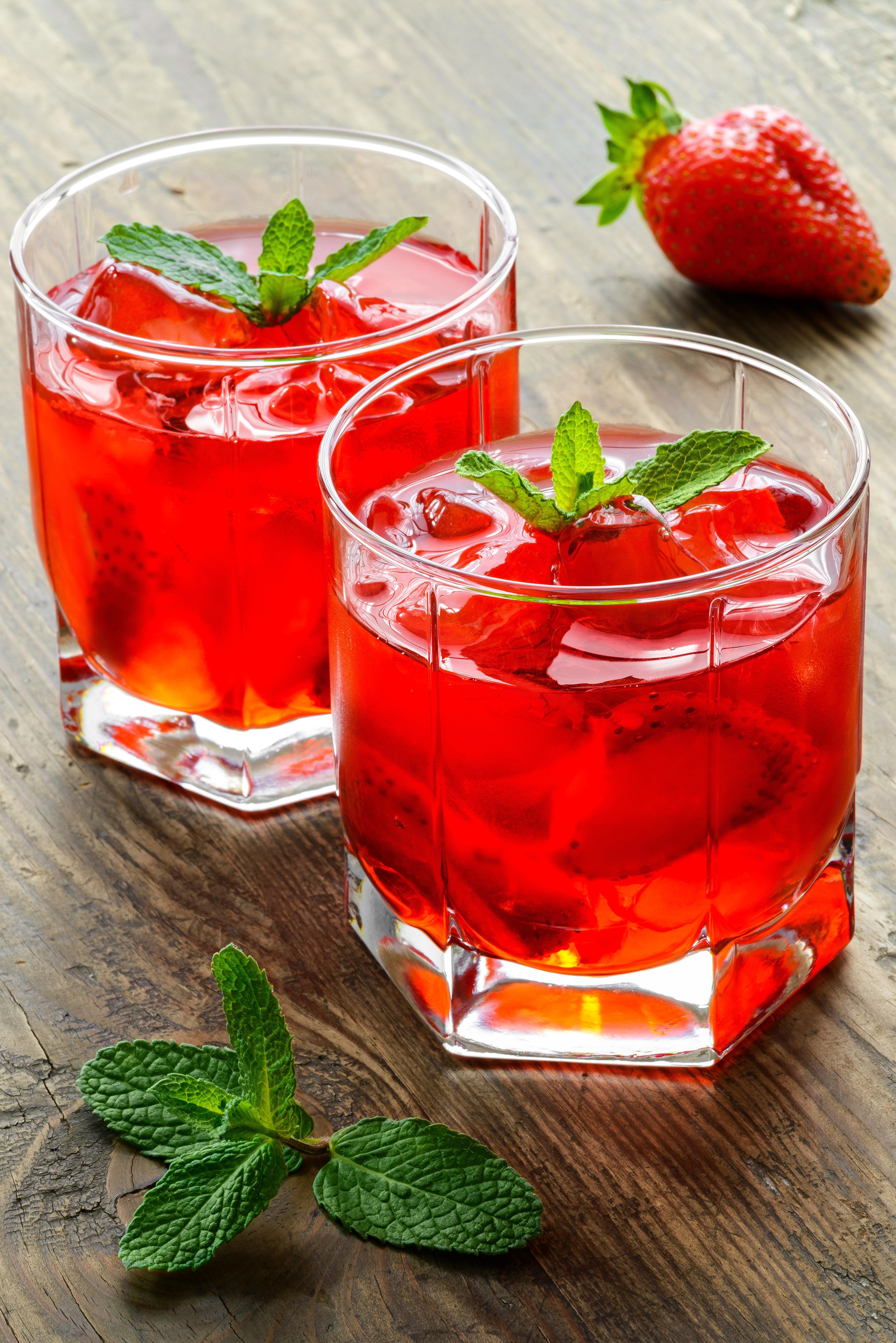 Wild Strawberry cocktail