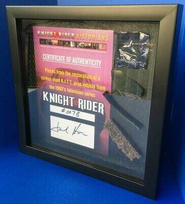 Knight Rider Shadow Box