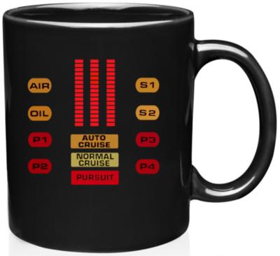 Knight Rider KITT Coffee Mug S2