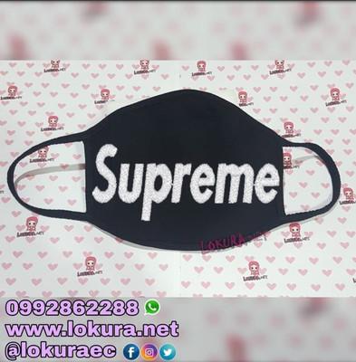🚚 Tapabocas Cubrebocas Supreme