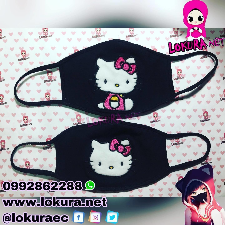 🚚 Tapabocas Cubrebocas Kitty (2 modelos)