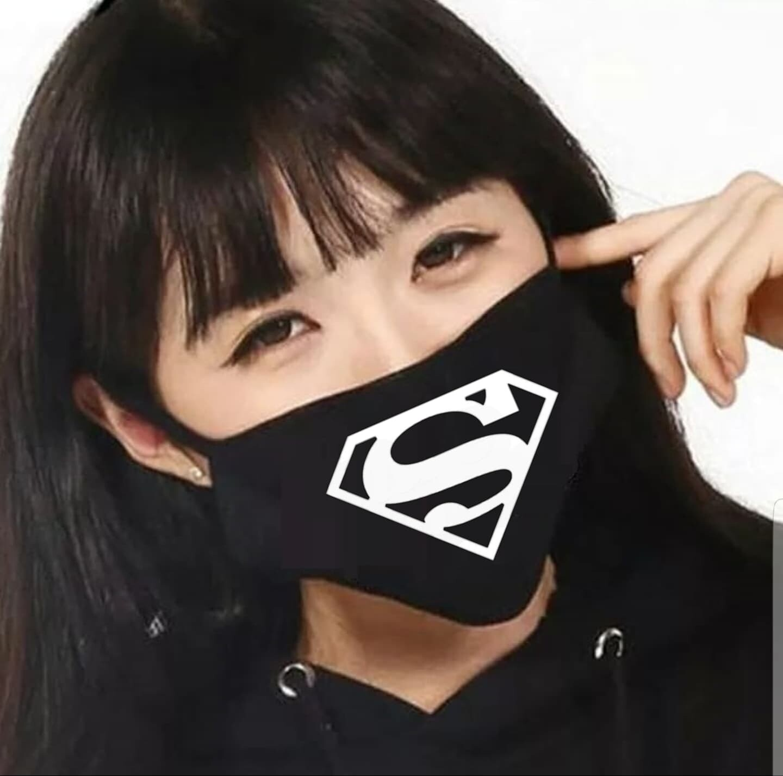 Tapabocas Cubrebocas Superman