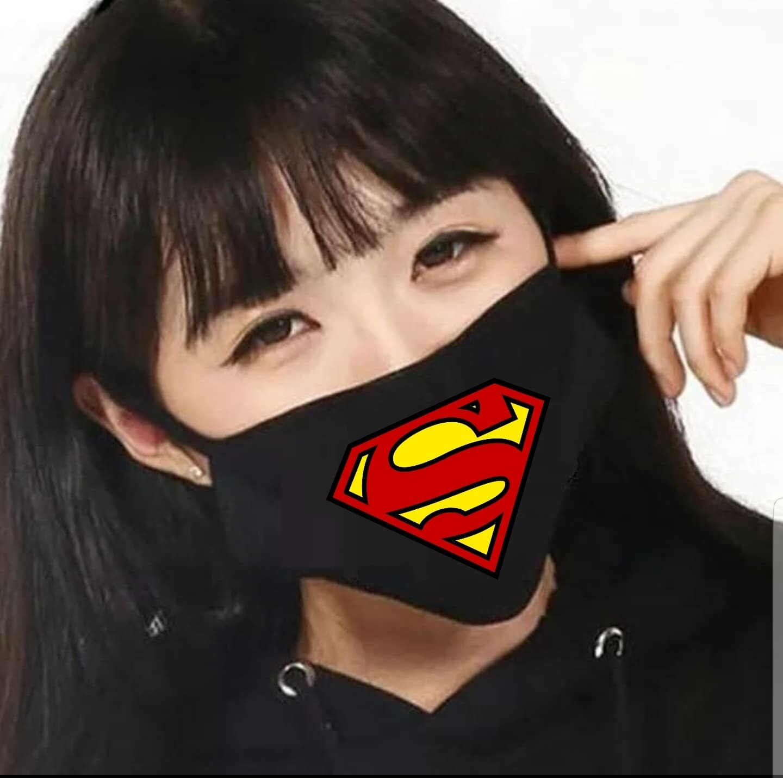 🚚 Tapabocas Cubrebocas Superman