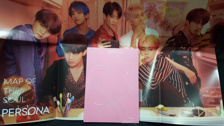 BTS Album oficial sellado + poster