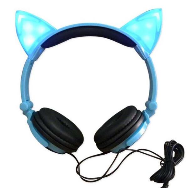 🚚 Audifonos Gato Con Luces