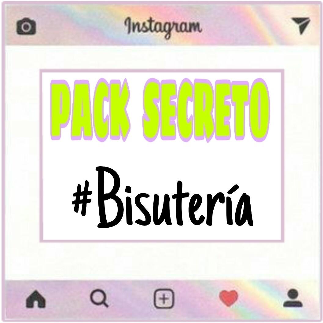 PACK SECRETO #BISUTERÍA