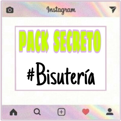 🚚 PACK SECRETO #BISUTERÍA