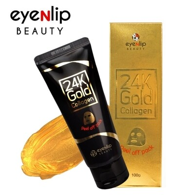 🚚 24k Gold Colágena Peel Off Mascarilla