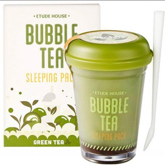🚚 [Original] Bubble Tea Sleeping Pack 🇰🇷