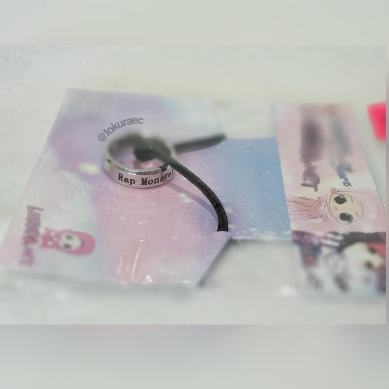 🚚 BTS Collar Anillo  *RAP MONSTER*
