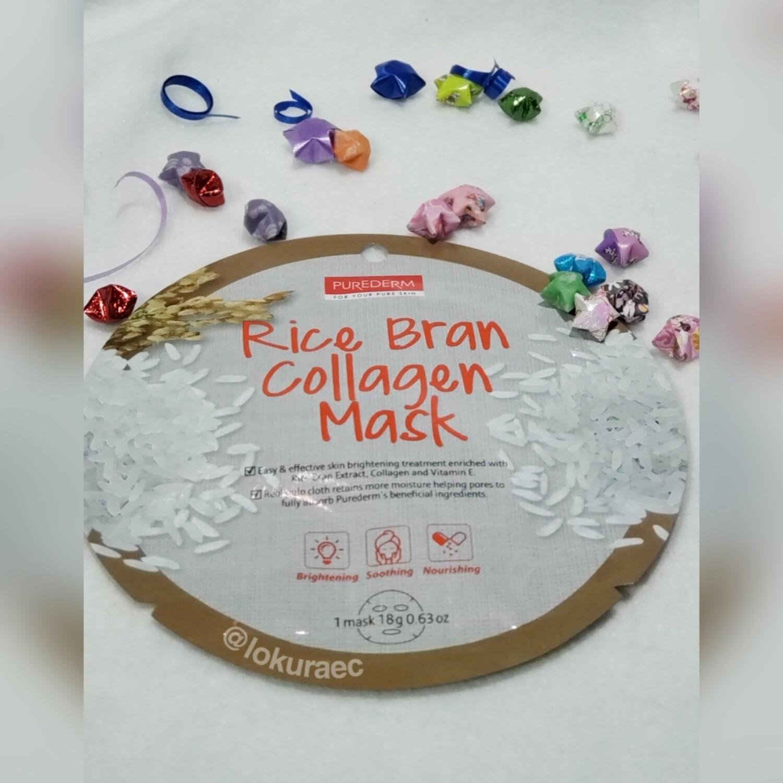 🚚 Mascarilla Rice Bran Collagen 🇰🇷