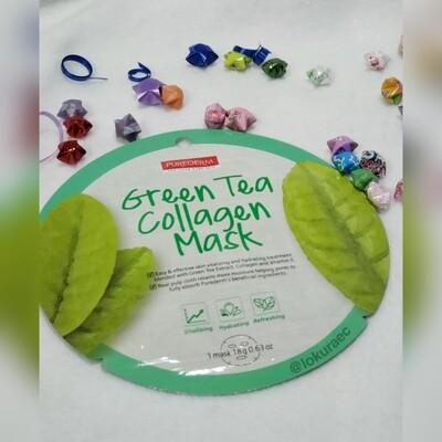 🚚 Mascarilla Green Tea Collagen