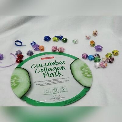 🚚 Mascarilla Cucumber Collagen