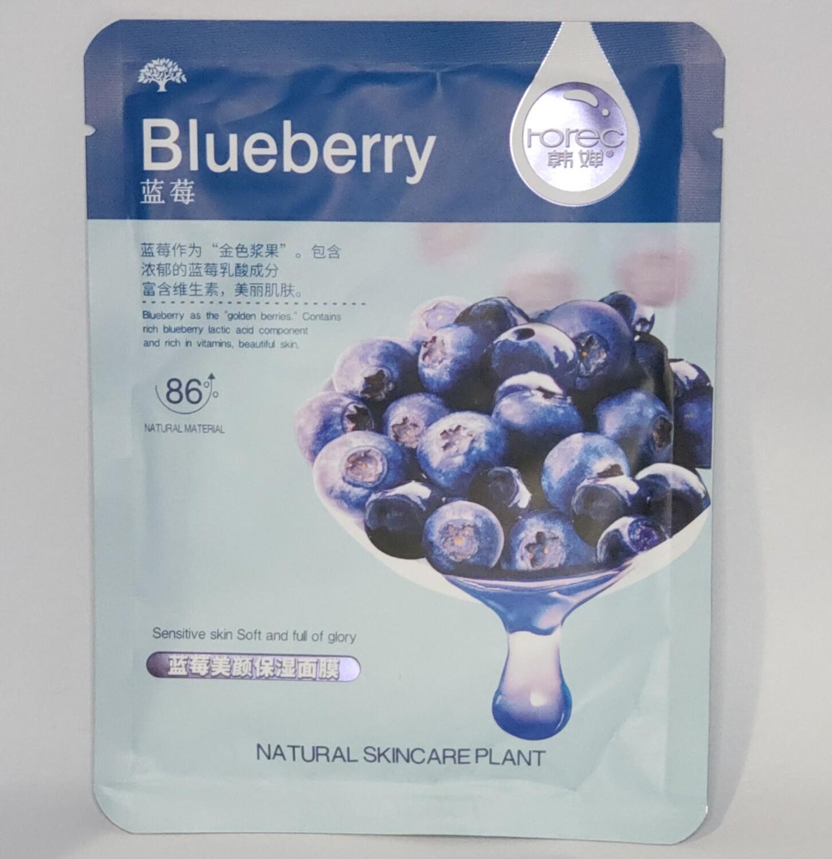 🚚 Mascarilla Blueberry