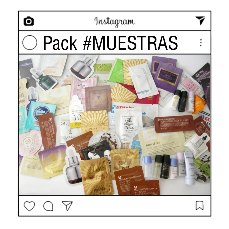 🚚 PACK #MUESTRAS COSMETICOS