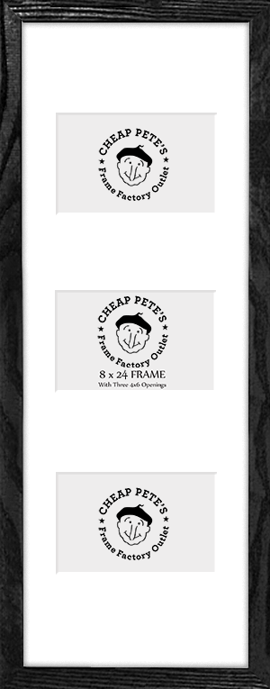 8x24 Black SOMA Collage | Cheap Pete\'s Frame Factory Outlet